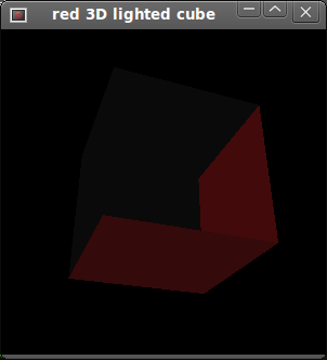 Red Cube Without Face